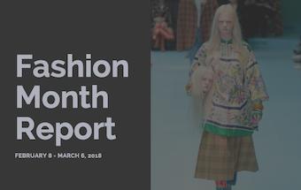 Fashion Month Fall/Winter 2018