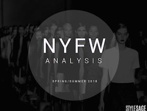 NYFW Spring/Summer 2018